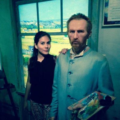 Me with Van Gogh