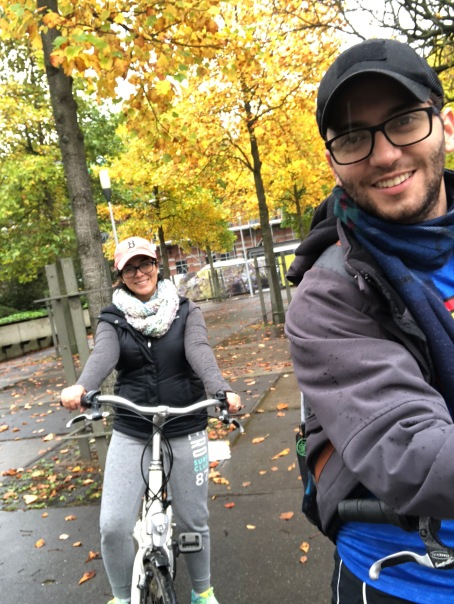 Rented bikes to have the experience!!