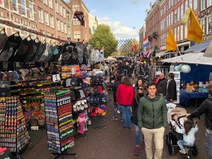 Famous Albertcuyp market at De Pijp