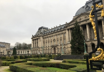 Garden view of the Palace