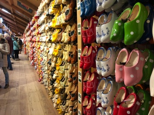 And well, a full store of clogs in all colors and sizes