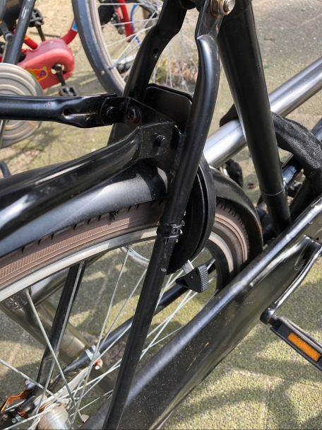 Back wheel lock