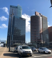 Maastoren, house of Deloitte and AKD. This is the tallest building in the Netherlands!