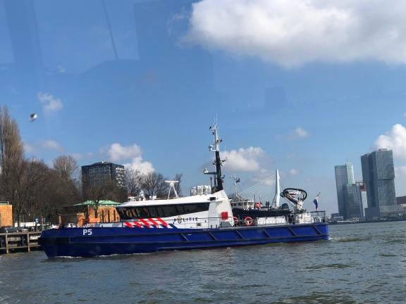 Politie boat