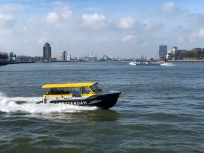 Water taxi and there is also a water bus
