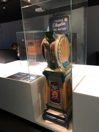 Mutoscope, one of the first motion picture devices creating the illusion of movement, however it was just for one person each time