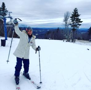 First time skiing! Boston, MA, USA