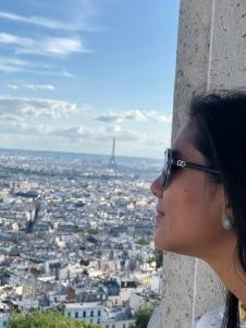 View from the Sacré-Cœur Basilica dome!