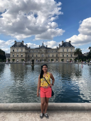 Luxembourg Palace, also nice to chill in the gardens!