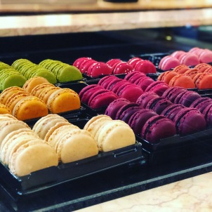 Another must eat, macarons.