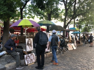 Montmartre Artists square!
