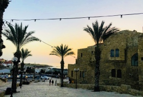 Twilight at Old Jaffa